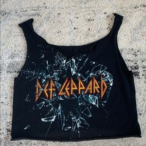Def Leppard | Distressed Band Tee